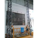Підвісна платформа з алюмінієвим канатом потужністю 10 м з однофазним живленням zlp1000 2 * 2,2 кВт