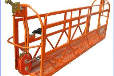 1000 кг 7,5 мкс 3 секції підвісна робоча платформа з алюмінієвого сплаву ZLP1000