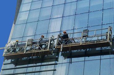 100м - 300м підвісних платформ доступу 220v для висотного будівництва живопису