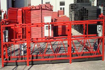будівельне прибирання підвісна робоча платформа zlp800 з номінальним навантаженням 800 кг
