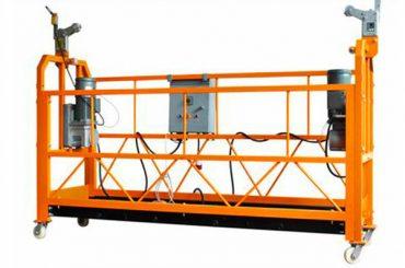zlp1000 тимчасово встановив підвісну платформу для кріплення будівлі