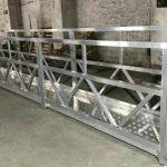 zlp800 сталева підвісна робоча платформа 380v 3 фази для очищення зовнішньої стіни