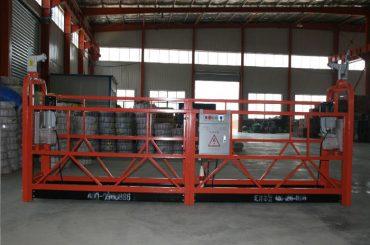 zlp1000 8 - 10 м / хв безпечна підвісна підвісна платформа для будівництва та експлуатації