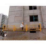7,5 метри підвісні платформи на 800 кг для чищення будівель, штифтовий тип
