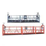 Високий рівень будівництва вікна прибирання підвішеної робочої платформи zlp630