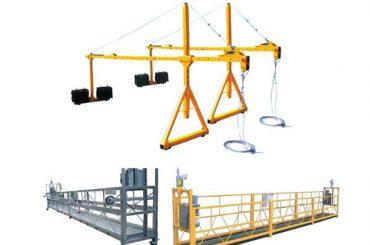 Гаряча успішна продаж успішно підвішена сталева брудна платформа доступу zlp630, zlp800, zlp1000