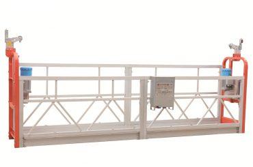 zlp630 пофарбований сталевий фасад прибирання підвісна робоча платформа