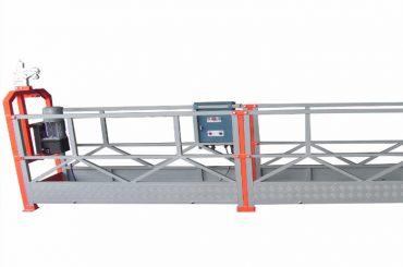 1000 кг 2,5 м * 3 секції підвішене обладнання для доступу zlp1000 з запобіжним блокуванням 30км