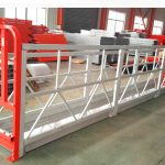 Підвісні системи лісів з алюмінієвого сплаву 1000 кг 2,2 кВт для чищення вікон