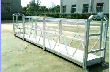 Сталеві / алюмінієві підвісні робочі платформи із серією SAL Safety Lock