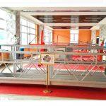 підвісна платформа zlp630 (ce iso gost) / високошвидкісне обладнання для чищення вікон / тимчасова гондола / колиска / гойдалка горяча