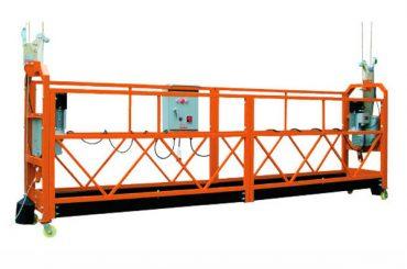 2.5мx 3 секції 1000кг підвісна платформа підйому 8-10 м / хв