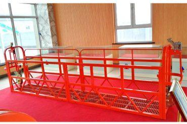 сталеві підвісні платформи доступу 7.5m 1.8kw 800kg підтримка будівлі