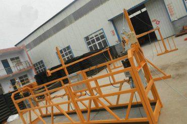 надійна zlp630 фарбування сталі підвісна робоча платформа для будівництва