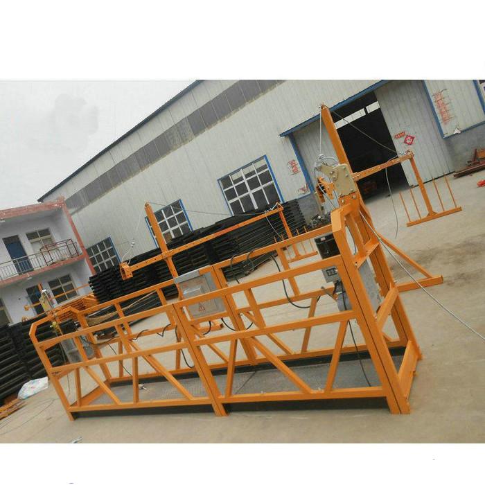 Надійна сталь підвісна робоча платформа ZLP630 для будівництва