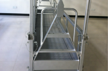 підвісна сталева робоча платформа / підвісна сталева платформа
