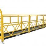 сталь / гаряче оцинкований / алюмінієвий сплав трос підвішеної платформи 1.5kw 380v 50Hz