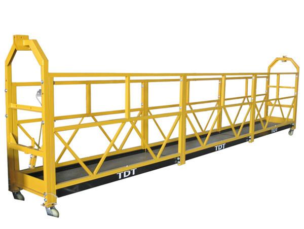 Підвісна платформа із сталевим / гарячим оцинкованим / алюмінієвим сплавом. 1.5KW 380V 50HZ