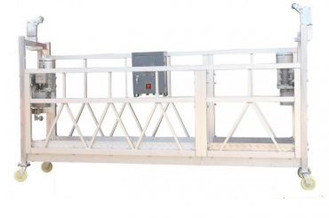 Сталь пофарбована гарячо-оцинкована алюмінієва підвісна робоча платформа ZLP630 для фасадного фарбування