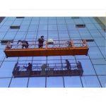 міцна підвісна платформа з підвісною мотузкою із запобіжником 30км zlp1000 2.2кв 2.5м * 3