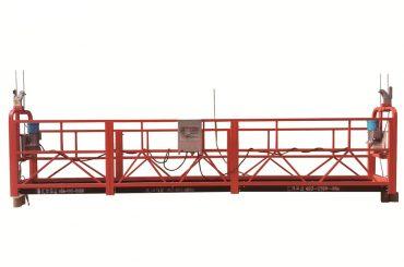 Сталева / гаряча оцинкована тимчасова підвісна платформа, zlp500 обслуговування колыбель