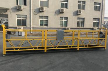 розфарбовані алюмінієві підвісні тросові платформи 500кг / 630кг / 800кг / 1000кг
