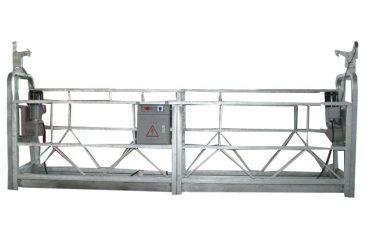 гаряча оцинкована підвісна робоча платформа zlp630 для висотного будівництва