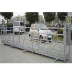 Підвісна підвісна платформа zlp630 / Електрична ступень гойдалки / Ліси для машини для чищення вікон